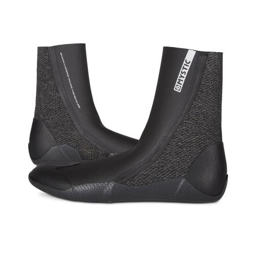 Mystic Supreme Boot - Split toe (5mm) black surfisussid