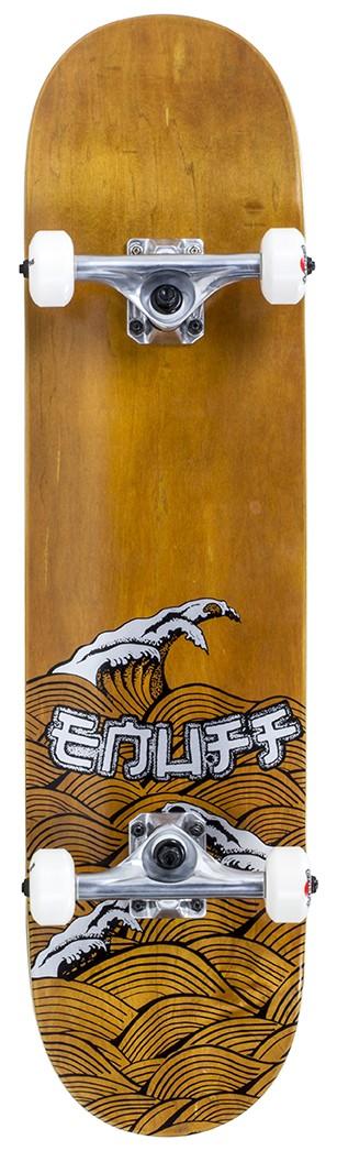 Enuff Big Wave rula Brown/Silver 8 x 32