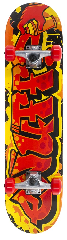Enuff Graffiti II rula Red 7.75 x 31.5
