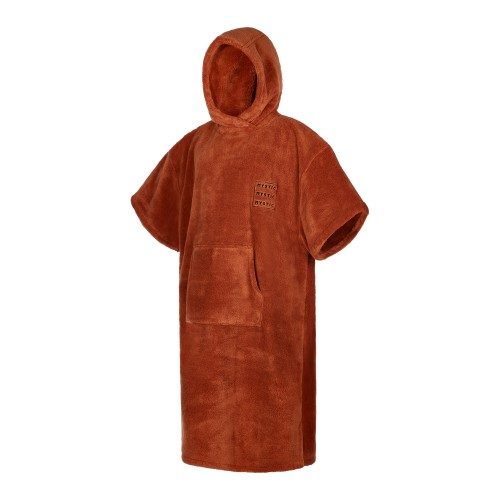 Mystic Poncho Teddy Rusty Red