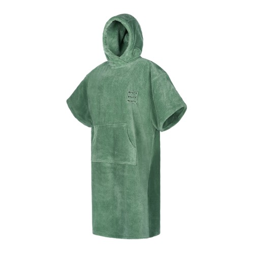 Mystic Poncho Teddy Sea Salt Green