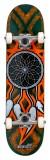 Enuff Dreamcatcher rula Teal/Orange 7.75 x 31.5