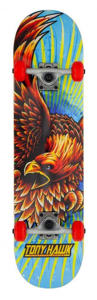 """Tony Hawk SS 180 rula Golden Hawk 7.75"""" x 31"""""""