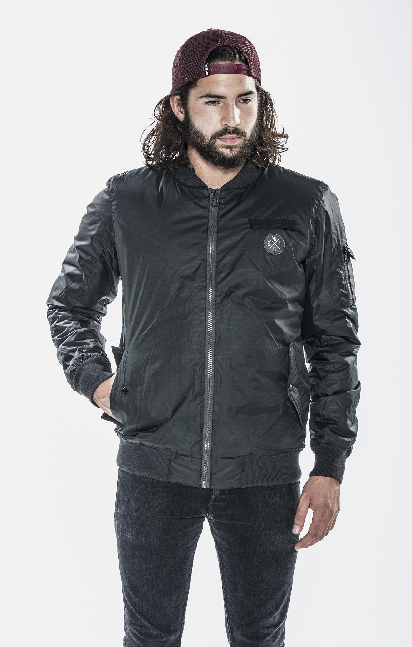 2017 Mystic Maverick Jacket Dark Grey meeste jope