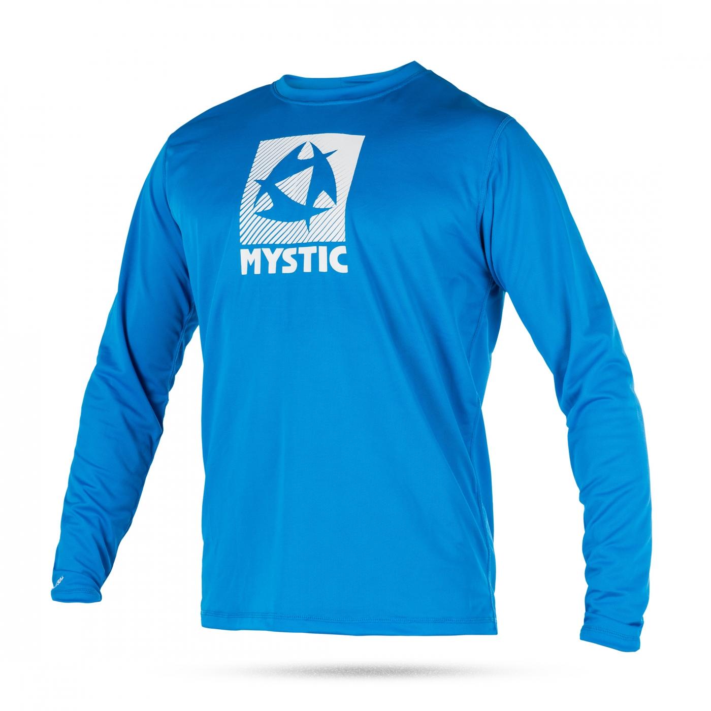 2017 Mystic Star Quick Dry särk P/V Blue