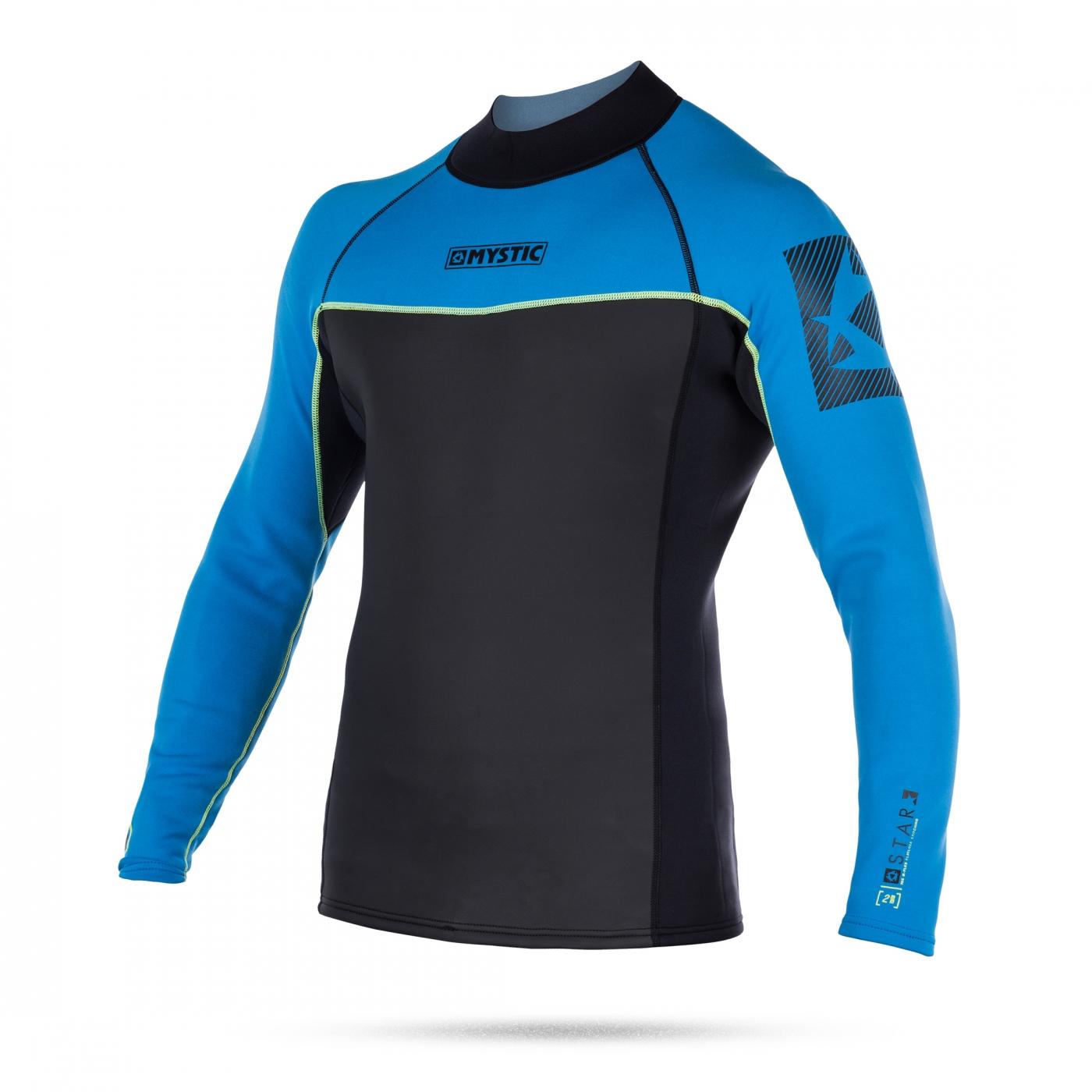 Mystic Star Vest Neo P/V (2MM) neopreen särk Blue
