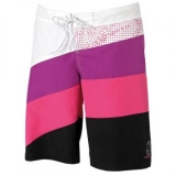 Naiste shortsid Mystic Rainbow Shocking Pink